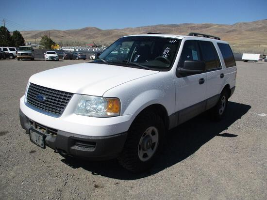 2006 MAKE FORD MODEL EXPEDITION VIN 1FMPU14596LA72719 DESCRIPTION 4X4 3RD SEAT ODOMETER 169964
