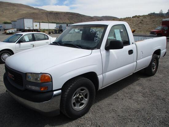 2001 GMC 1500 PICKUP