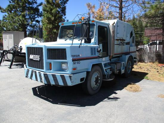 1999 MAKE MOBILE/ATHEY MODEL M9D SWEEPER VIN 1AY924DRXXR059015 DESCRIPTION HIGH DUMP 06425 HRS HAS
