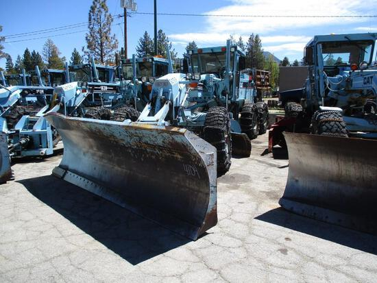 1995 MAKE CAT MODEL 163H GRADER VIN 5AK00045 DESCRIPTION 7539 HRS 14' PLOW BLADE AWD 3306 TAXABLE AT