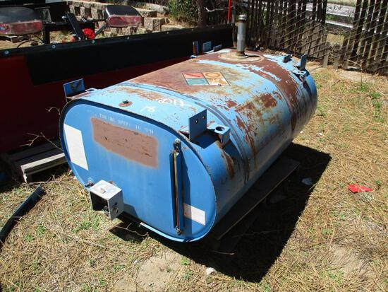 "MAKE TANK MODEL STEEL DESCRIPTION 44"" X 27"" TAXABLE AT THE CITY OF SOUTH LAKE TAHOE MAINTENANCE SHOP"