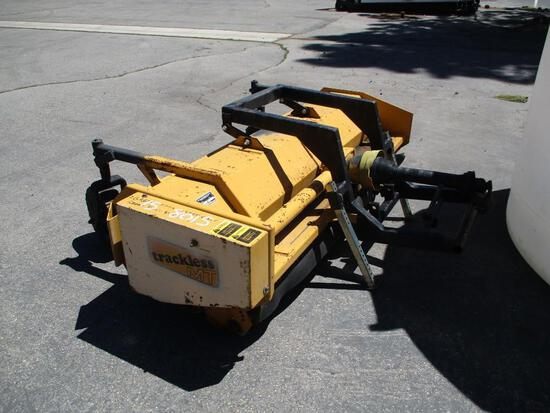 "2005 MAKE TRACKLESS MODEL MTF4 FLAIL MOWER VIN 299 DESCRIPTION 78"" WIDE TAXABLE AT THE CITY OF SOUTH"