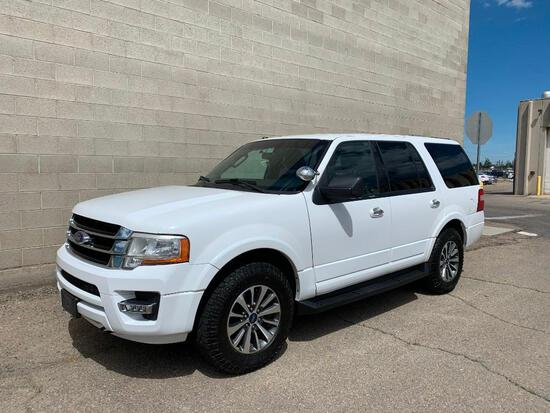 2015 Ford Expedition Multipurpose Vehicle (MPV), VIN # 1FMJU1JT2FEF34261