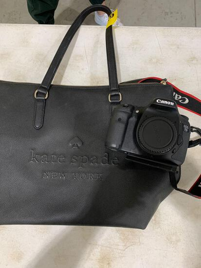 CANON EOS 7D IN PURSE