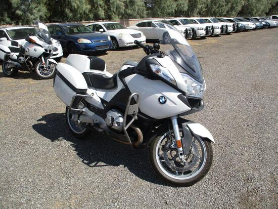 2012 BMW R1200 RT POLICE