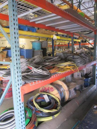MISC CABLE AND ELECTRICAL INVENTORY