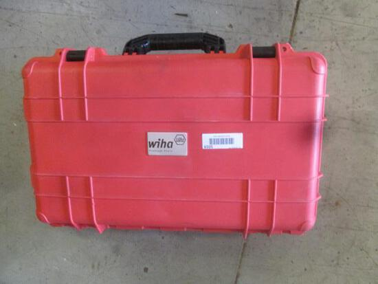 WIHA INSULATED TOOLS AND ROLLING TOOL CASE