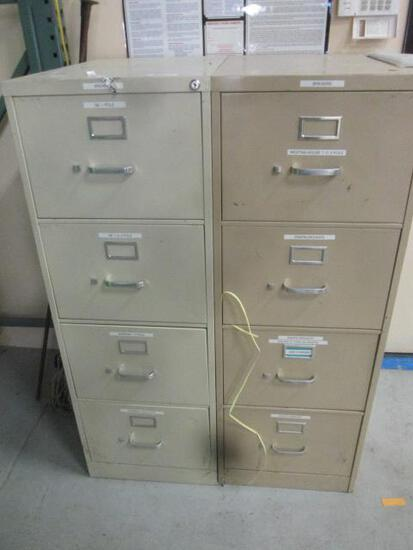 3 FILE CABINETS AND CONTENTS (BREAKERS)