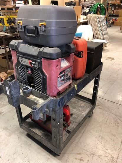 Cart w/ misc tools