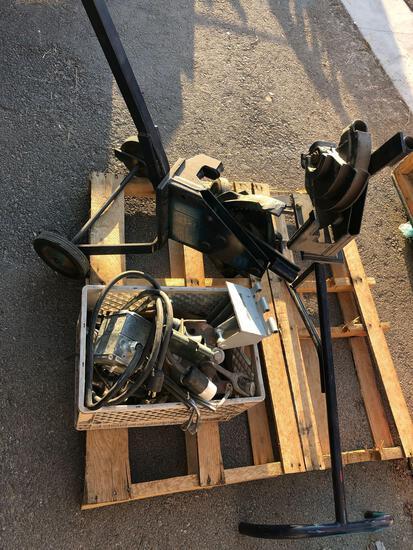 (2) Greenlee Mechanical Benders