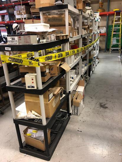 (7) Shelving Units and Parts.