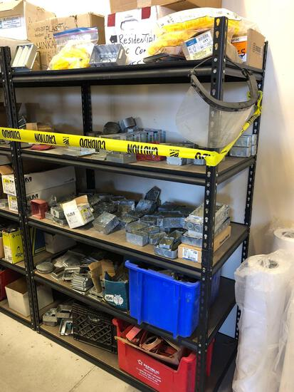 (4) Adjustable Shelves and Parts