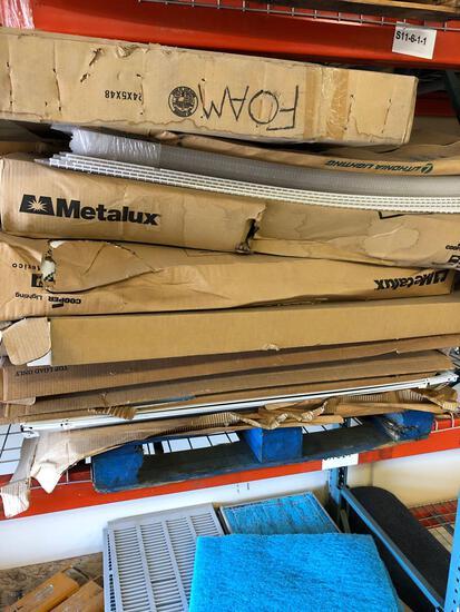 (4) Pallets Electrical Parts