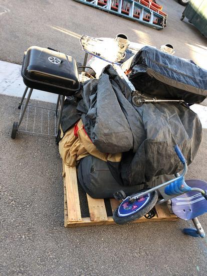 Camping Equipment, Wake Board, Misc.