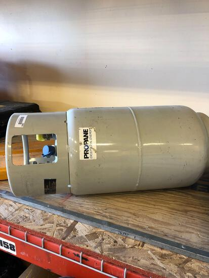 Propane Tank and 6' Fork Extensions