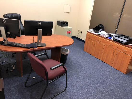 Furniture and Contents in Office