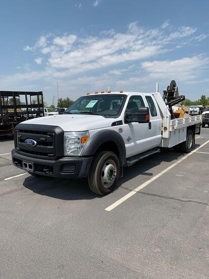 2011 FORD F450 FLATBED