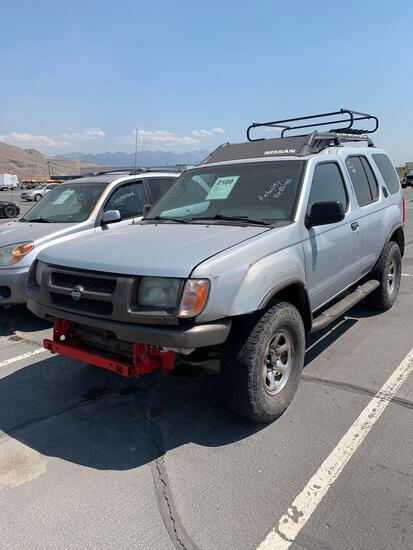 2001 NISSAN XTERRA 2WD RBLT
