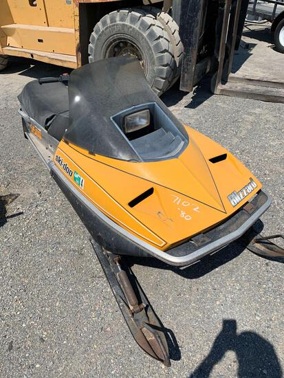 1980 SKIDOO SNOWMOBILE