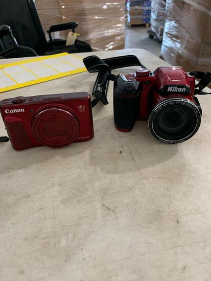NIKON COOLPIX B500 AND CANON SX720HS