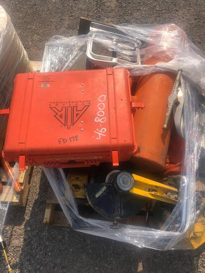 PORTABLE SAWS/ AIR MANIFOLD AND DUCT CARRIER