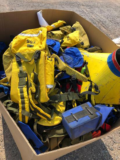 FIRE SAFETY HARNESS'S AND BAGS