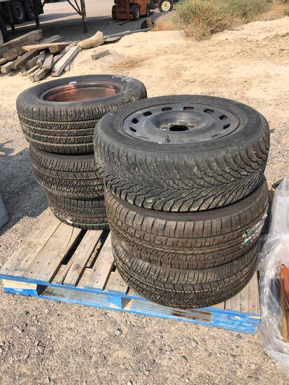 6- TIRES AND RIMS 225/60R16