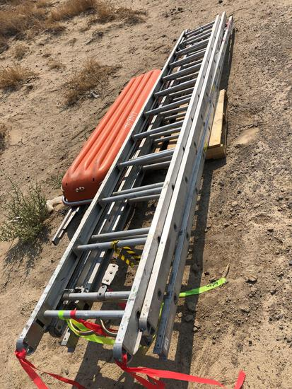 EXTENSION LADDERS/ UNDERSTANDS AND FERNO STRETCHER
