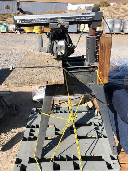 """CRAFTSMAN 10"""" RADIAL ARM SAW TAXABLE"""