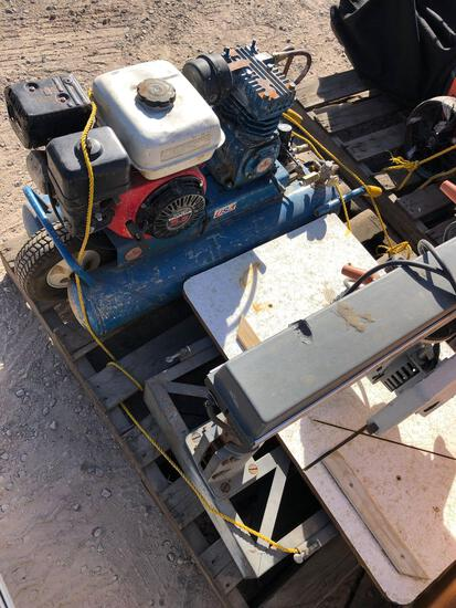 COMPRESSOR AND BAND SAW TAXABLE