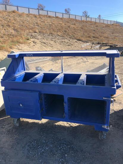 FOOD SERVING CART TAXABLE