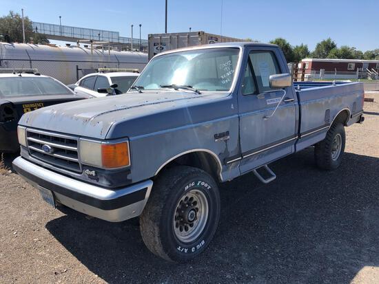 1991 Ford F-250 Pickup Truck, VIN # 1FTEF26N5MPB22210