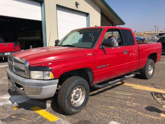 1997 Dodge Ram Pickup Pickup Truck, VIN # 1B7HF13Y9VJ607623
