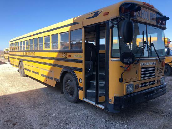 2002 Blue Bird TC2000 Bus, VIN # 1BAANCPA42F206518