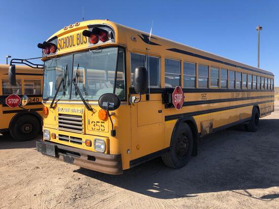 2002 Blue Bird TC2000 Bus, VIN # 1BAANCPA62F206519