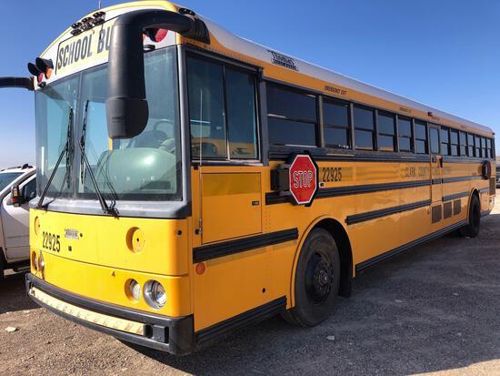 2002 Thomas Built Buses Saf-T-Liner MVP-ER Transit Bus, VIN # 1T75U3B2421114450