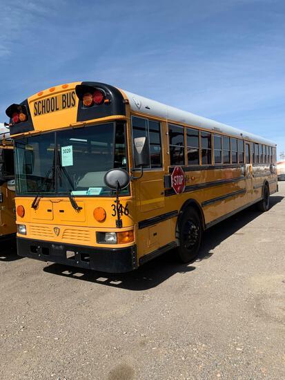 2012 INTL 84 PASS BUS