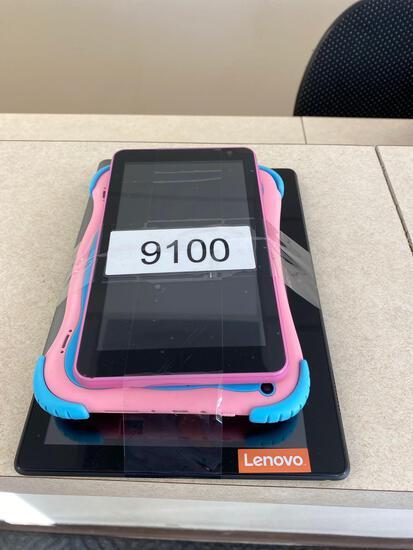 Nook, Evoo, Lenovo, 1 unknown brand tablets