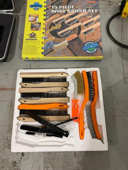 2 CUMMINS WIRE BRUSH SETS