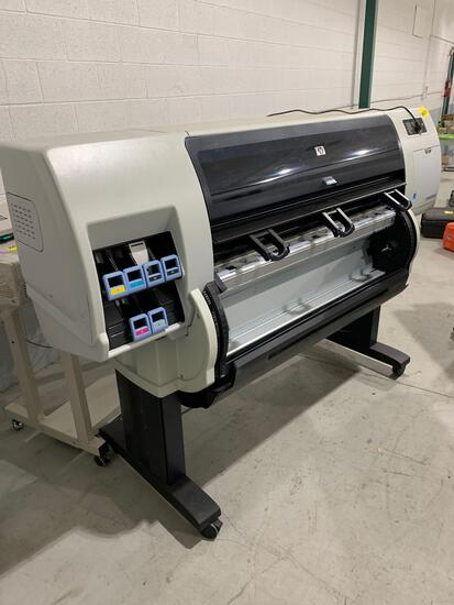 HP T7100 PLOTTER W/ HP STACKER