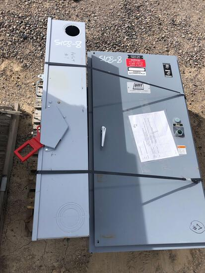 TRANSFER SWITCH AND DISCONNECT