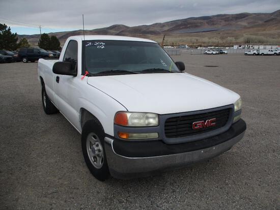 2002 GMC 1500 PICKUP