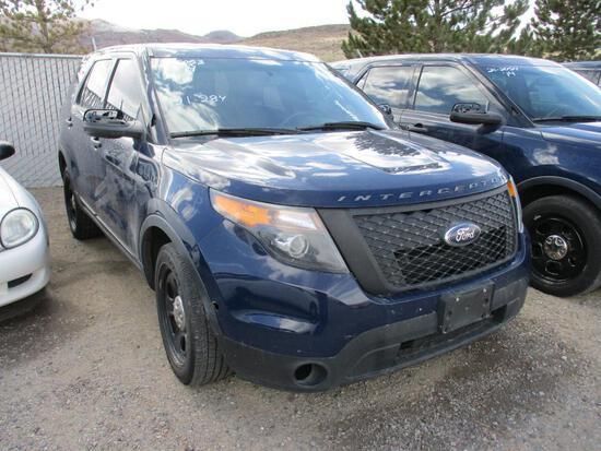 2014 FORD INTERCEPTOR SUV