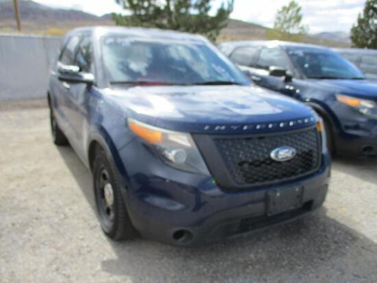 2015 FORD INTERCEPTOR SUV