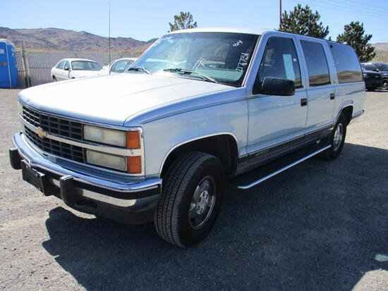 1993 CHEV 1500 SUBURBAN