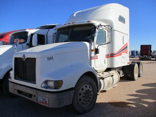2005 International 9400i Truck, VIN # 2HSCNAPR45C008103