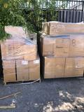 2- PALLETS NEW AIR FILTERS