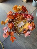 WREATH AND METAL STAND TAXABLE