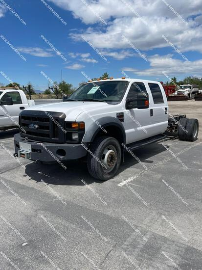 2008 FORD F550 CAB & CHAS