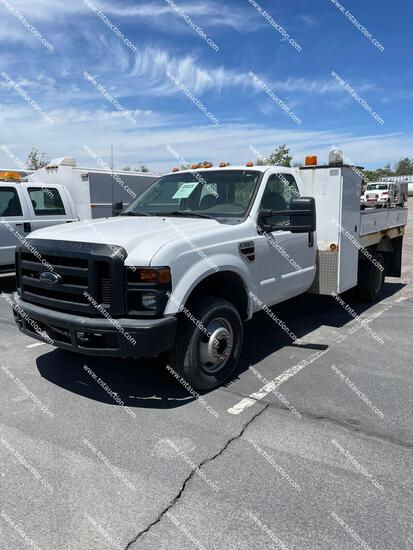 2008 FORD F350 FLATBED
